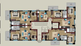 Centrally Located Properties Close to Kaleiçi in Antalya, Property Plans-1