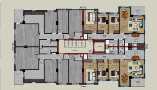 Centrally Located Properties Close to Kaleiçi in Antalya, Property Plans-2