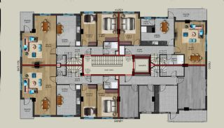 Centrally Located Properties Close to Kaleiçi in Antalya, Property Plans-3