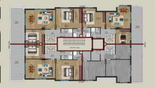 Centrally Located Properties Close to Kaleiçi in Antalya, Property Plans-4