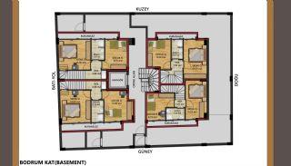 Vorteilhaft gelegene Wohnungen 200 mt zum Meer in Antalya, Immobilienplaene-1