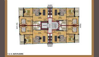 Appartements Haute Qualité à 200 M du Bord de Mer à Antalya, Projet Immobiliers-3