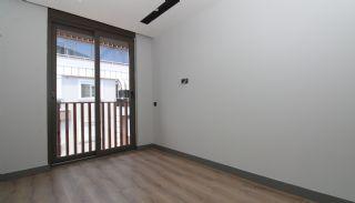 Modern gestaltete Immobilien mit Innenparkplatz in Konyaaltı, Foto's Innenbereich-17