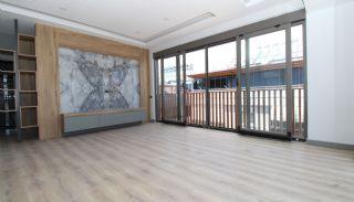 Modern gestaltete Immobilien mit Innenparkplatz in Konyaaltı, Foto's Innenbereich-2