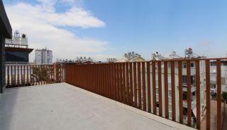 Modern gestaltete Immobilien mit Innenparkplatz in Konyaaltı, Foto's Innenbereich-21