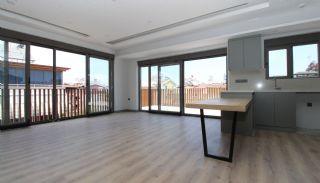 Modern gestaltete Immobilien mit Innenparkplatz in Konyaaltı, Foto's Innenbereich-4