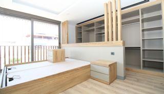 Modern gestaltete Immobilien mit Innenparkplatz in Konyaaltı, Foto's Innenbereich-7