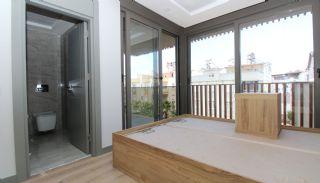 Modern gestaltete Immobilien mit Innenparkplatz in Konyaaltı, Foto's Innenbereich-8