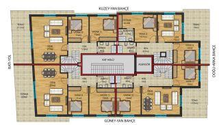 Flats for Sale in Muratpaşa Walking Distance to Kaleiçi, Property Plans-2