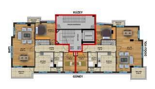New Antalya Apartments within Walking Distance from the Sea, Property Plans-1