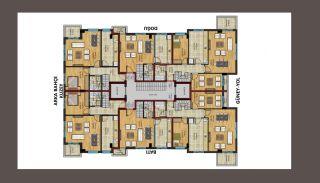 Maisonette Wohnungen in Gehweite zum Strand in Antalya, Immobilienplaene-1