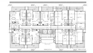 Brand New Apartments in a Central Location in Oba Alanya, Property Plans-2