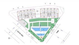 Alanya Oba'da Şehir Merkezinde Satılık Daireler, Kat Planları-4