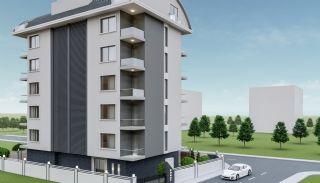 Heldere appartementen in Alanya dicht bij de oude stad Naula, Alanya / Mahmutlar - video