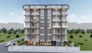 Heldere appartementen in Alanya dicht bij de oude stad Naula, Alanya / Mahmutlar