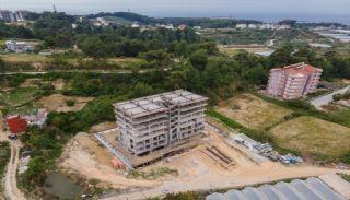 Lägenheter med havs och bergsutsikt i Alanya Turkiet, Byggbilder-1