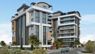 Appartementen met zee en bergzicht in Alanya Turkije, Alanya / Avsallar - video