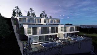 Panoramic Sea and City View Villas for Sale in Alanya, Alanya / Bektas - video