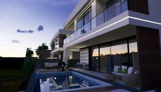Panoramische villa's met zee- en stadszicht in Alanya, Alanya / Bektas - video