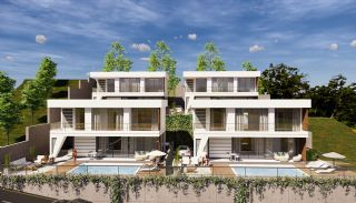 Panoramic Sea and City View Villas for Sale in Alanya, Alanya / Bektas