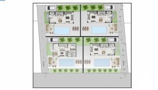 Panoramic Sea and City View Villas for Sale in Alanya, Property Plans-3