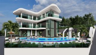 Luxury Triplex Villa with Sea View in Kargıcak Alanya, Alanya / Kargicak
