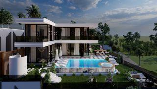 Vrijstaande villa met zee- en bergzicht in Kargıcak Alanya, Alanya / Kargicak - video