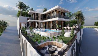 Fristående villa med havs- och bergsutsikt i Kargıcak Alanya, Alanya / Kargicak