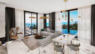 Fristående villa med havs- och bergsutsikt i Kargıcak Alanya, Interiör bilder-1