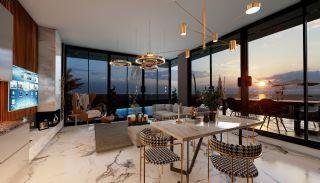 Fristående villa med havs- och bergsutsikt i Kargıcak Alanya, Interiör bilder-3
