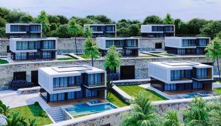 Vrijstaande villa's met zee- en stadszicht in Alanya Bektaş, Alanya / Bektas