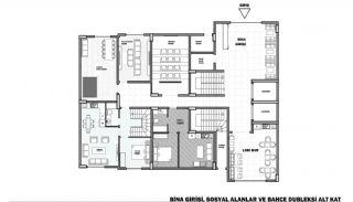 Элитная Недвижимость с Прекрасным Видом на Море в Алании, Планировка -15