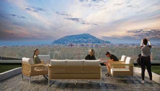 Maisonette Wohnungen mit Burg und Stadtblick in Alanya, Alanya / Zentrum - video