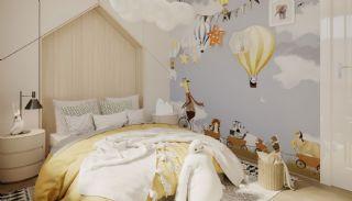 Maisonette Wohnungen mit Burg und Stadtblick in Alanya, Foto's Innenbereich-9