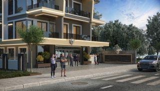 Nieuw gebouwde appartementen in het centrum van Oba, Alanya / Oba - video