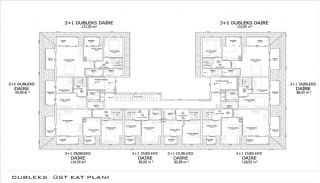 Brand New Apartments in Alanya Close to All Amenities, Property Plans-6