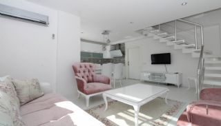 Speziell entworfene und möblierte Wohnung in Hurma Antalya, Foto's Innenbereich-1