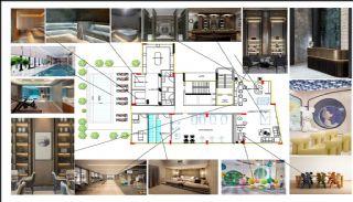Immobiliers Abordables Près de la Mer à Alanya Avsallar, Projet Immobiliers-2