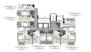 Immobiliers Abordables Près de la Mer à Alanya Avsallar, Projet Immobiliers-3