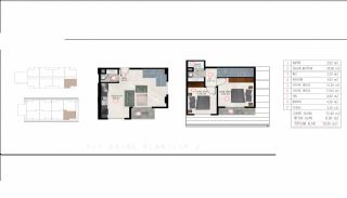 Luxury Real Estate Close to the Sea in Tosmur Alanya, Property Plans-2