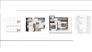 Luxueux Immobiliers Près de la Mer à Tosmur Alanya, Projet Immobiliers-2