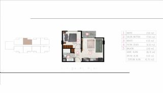 Luxueux Immobiliers Près de la Mer à Tosmur Alanya, Projet Immobiliers-3
