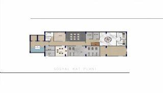 Luxueux Immobiliers Près de la Mer à Tosmur Alanya, Projet Immobiliers-5