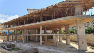 Alanya Merkezde Damlataş'a Yakın Satılık Lüks Daireler, İnşaat Fotoğrafları-1