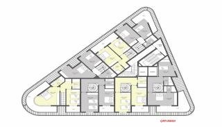 Luxury Flats for Sale Close to Damlataş in Alanya, Property Plans-1