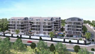 Luxueux Appartements au Centre à Acheter à Alanya Oba, Alanya / Avsallar