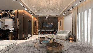 Luxueux Appartements au Centre à Acheter à Alanya Oba, Photo Interieur-1