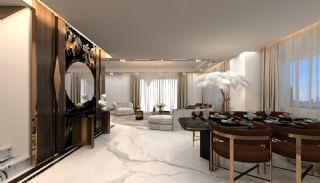 Luxueux Appartements au Centre à Acheter à Alanya Oba, Photo Interieur-7