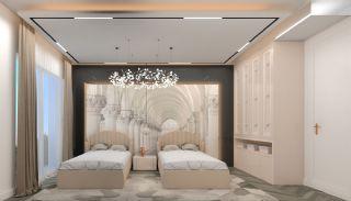 Luxueux Appartements au Centre à Acheter à Alanya Oba, Photo Interieur-11