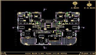 Centralt belägna lyxiga lägenheter att köpa i Alanya Oba, Planritningar-6